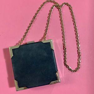 ✨Zara Black & Gold Chain Mini Bag ✨